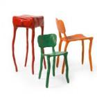 Clay furniture Maarten Baas