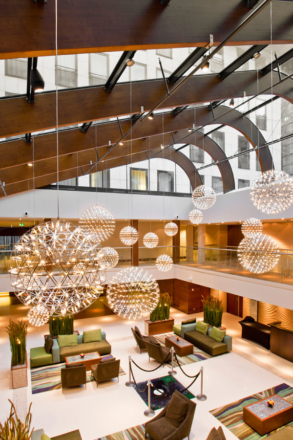 Hilton Den Haag ingericht door Moooi