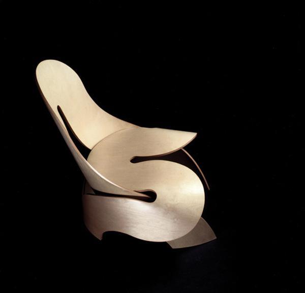 Geweldige stoel van Aldo Bakker.
