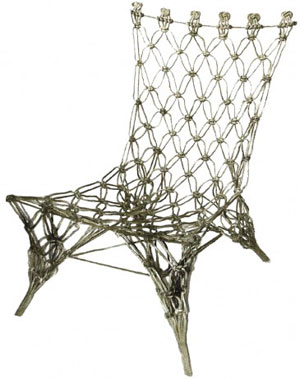 knotted chair Marcel Wanders Dutch Design