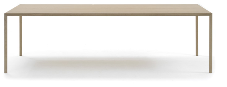Slim table: dutch design tafel van Bertjan Pot