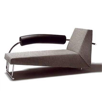 Chaise Longue 'Karel Doorman' van Rob Eckhardt  Chaise Longue 'Karel Doorman' van Rob Eckhardt  Chaise Longue 'Karel Doorman' van Rob Eckhardt