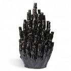 Koraalvaas Pols Potten zwart - Nederlands design.com
