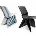 Endless chair Dirk vander Kooij is gemaakt met zijn zelfgemaakte 3D printer..