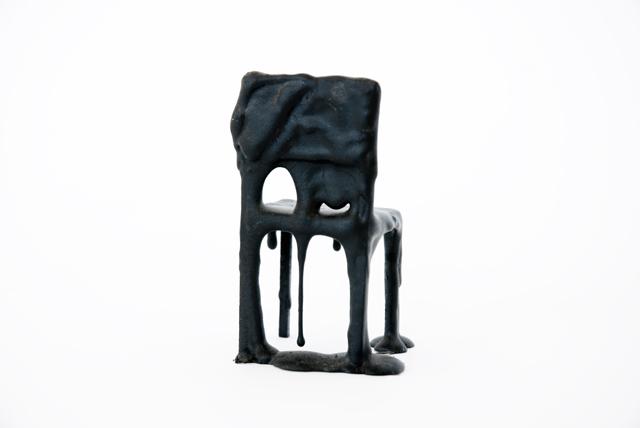Achterkant stoel Liquid Pillows van Pepe Heykoop