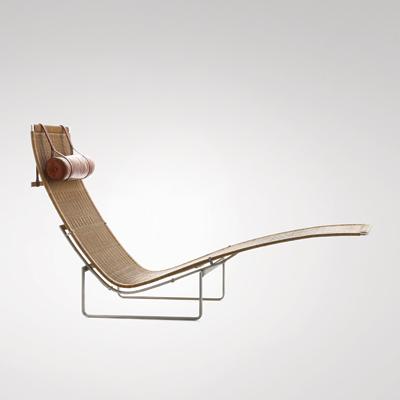 PK 24 van de Deens ontwerper Poul Kjaerholm
