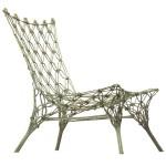 De Knotted Chair van Marcel Wanders. In dit ontwerp is de knooptechniek nog wat beter te zien.