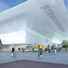 Beeld zoals het vernieuwde Stedelijk Museum in Amsterdam er uit moet komen te zien.