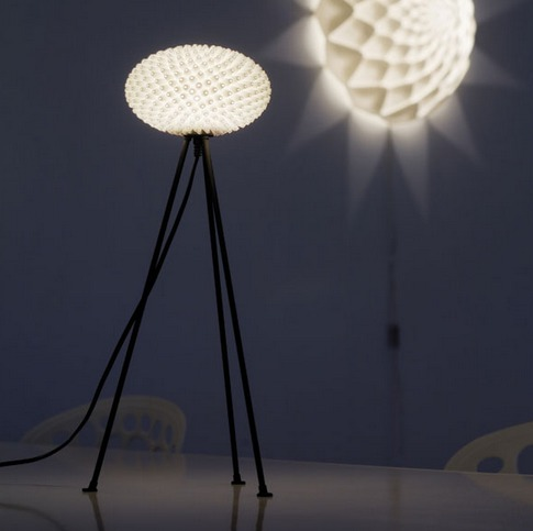3D geprinte lamp