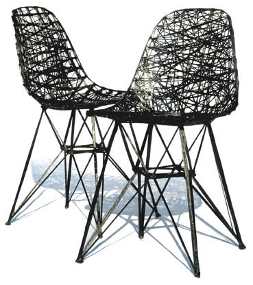 Carbon chair van Bertjan Pot & Marcel Wanders