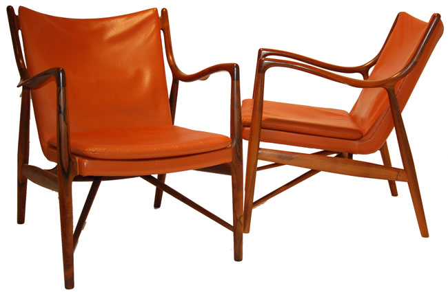 Finn Juhl Armchair model 45 (1945)