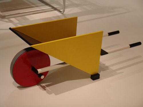 Kinder-kruiwagen Gerrit Rietveld