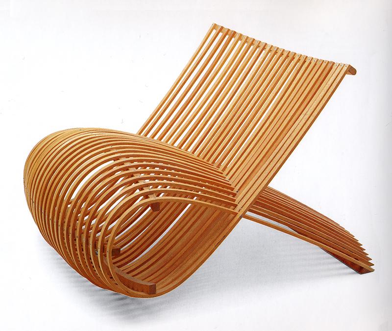 Marc Newson Wood Chair (1988)