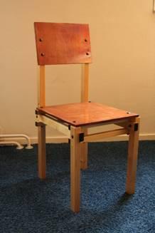 Militaire stoel Gerrit Rietveld