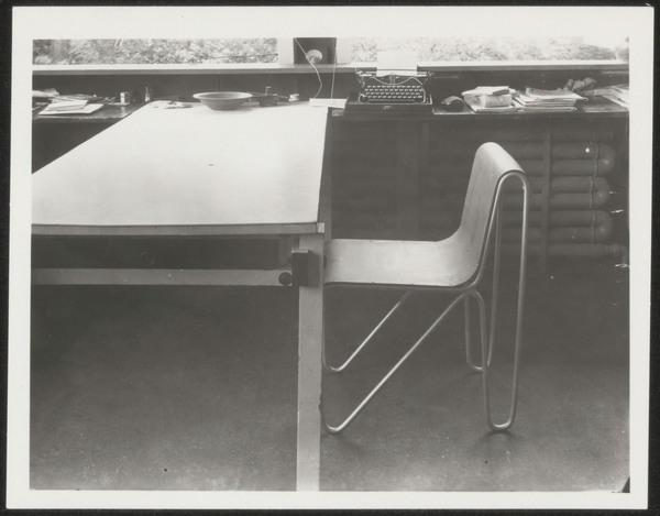 De militaire tafel van Rietveld uit 1923