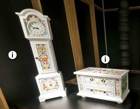 Screenshot van de nieuwe Alt Deutsche klok en kist van Studio Job die MOOOI tijdens de Milaan design week 2012 presenteert.