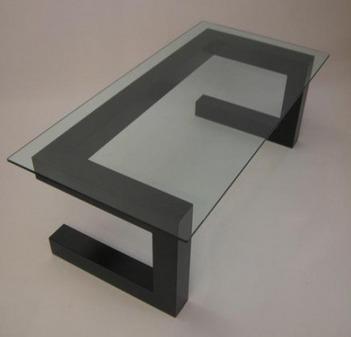 Design salontafel staaal