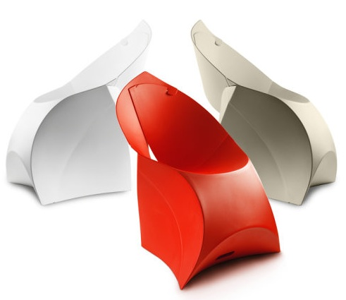 De Flux chair van Fluxfurniture in verschillende kleuren
