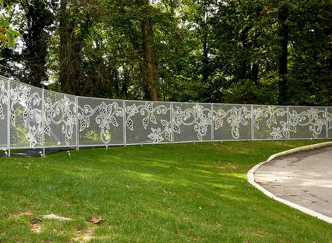 Le fence design hek van demakersvan