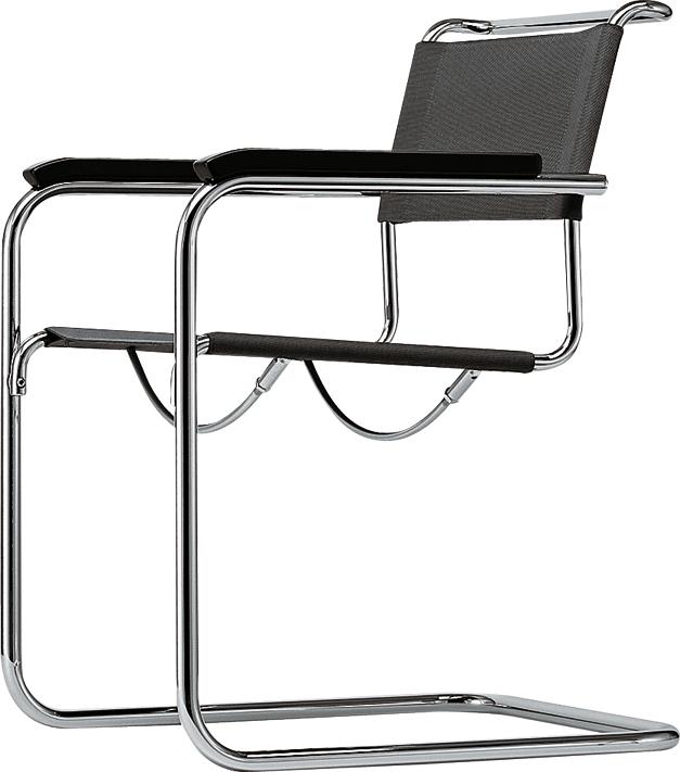S33 s34 buisstoelen van mart stam for Bauhaus design stoelen