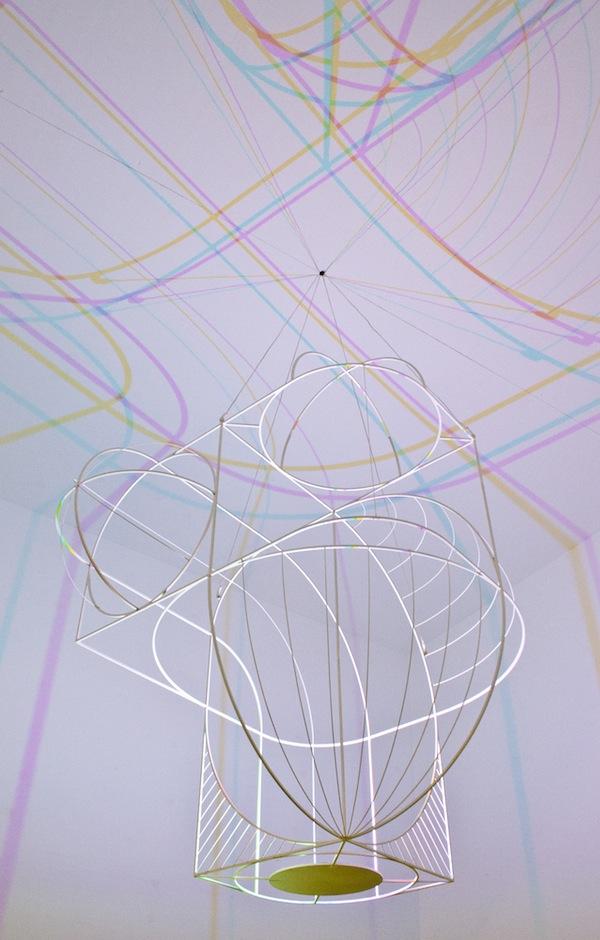 CMYK lamp Dennis Parren