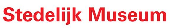 Oud logo Stedelijk Museum Amsterdam