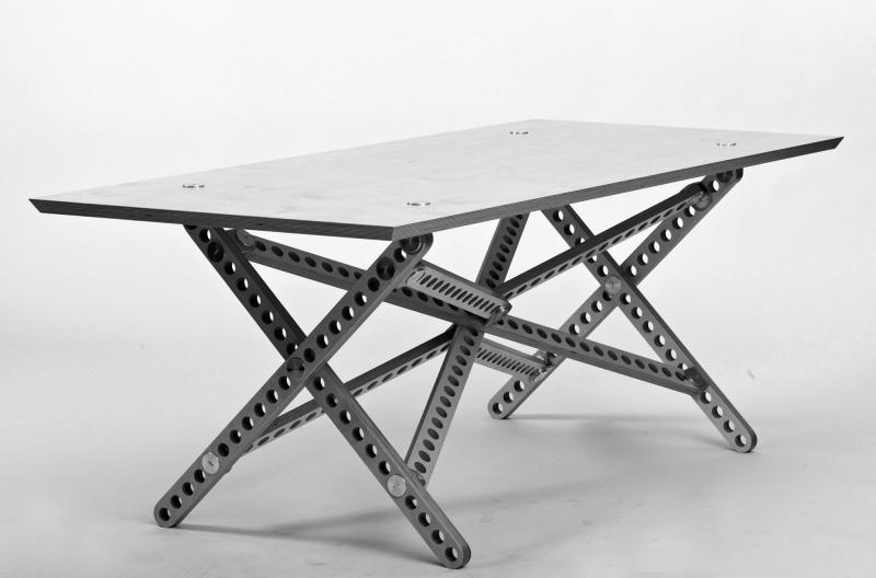TicTacToe tafel Gert Boven