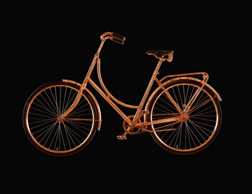 Copper bike Bart van Heesch