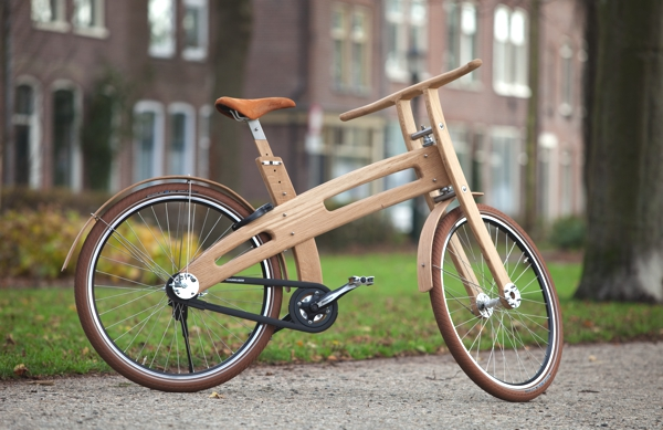 Bough bike houten fiets Jan Gunneweg.