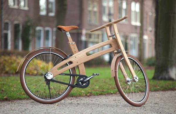 Bough bike houten fiets Jan Gunneweg.