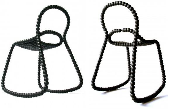 Rocking bead chair Vroonland Vaandrager
