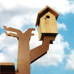 Vogelhuis maandag meubels