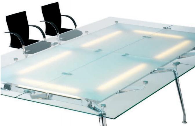 Vierkante Ahrend 1200 tafel
