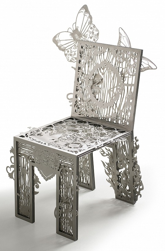 Chair of textures Tjep