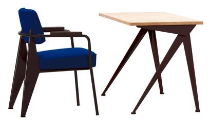 Prouvé stoel & bureau