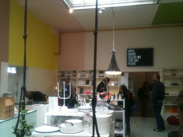 Droog design winkel