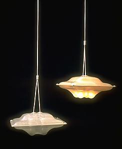 Jongerius knitted lamp