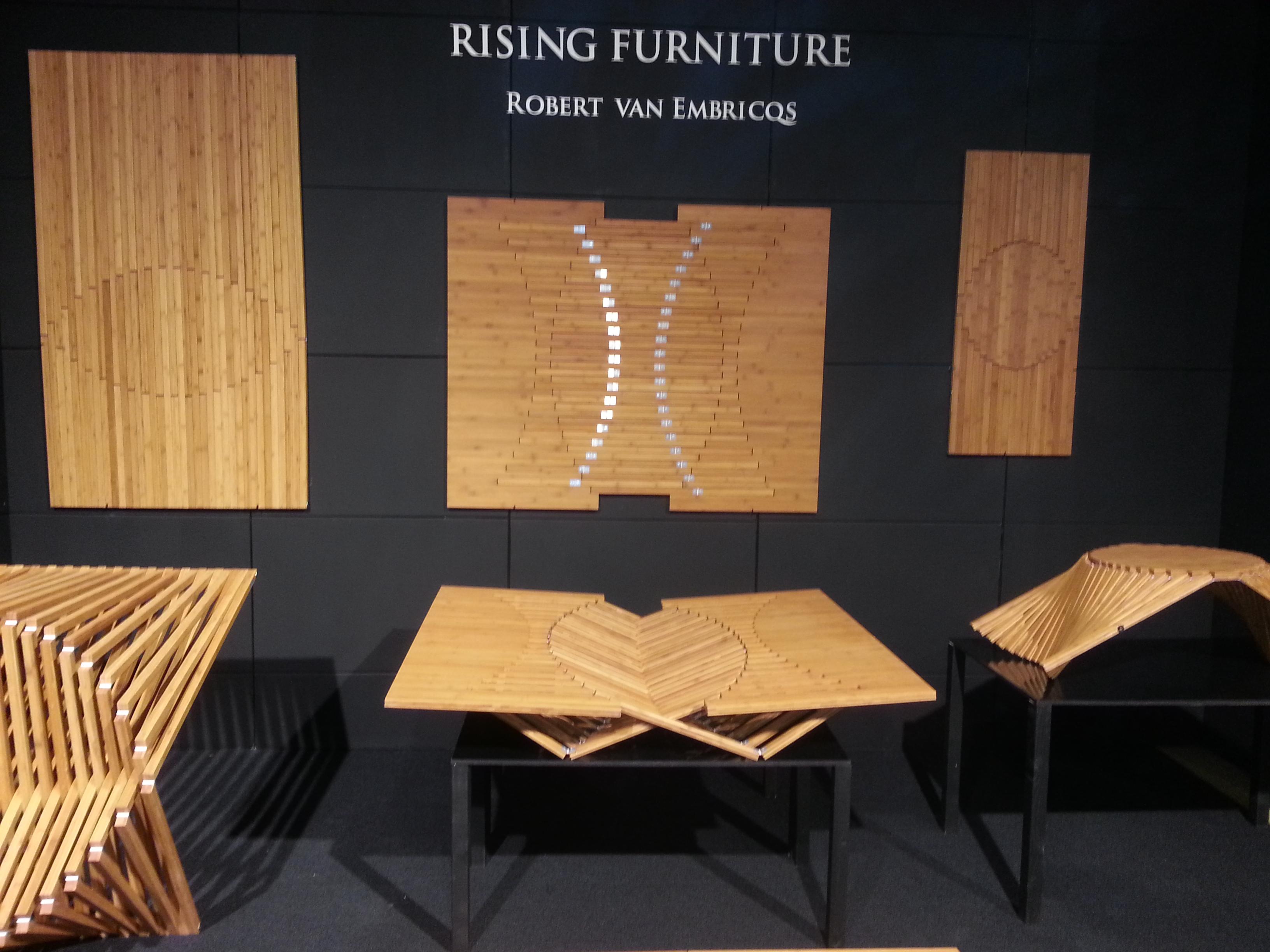 Rising furniture Robert van Embricqs