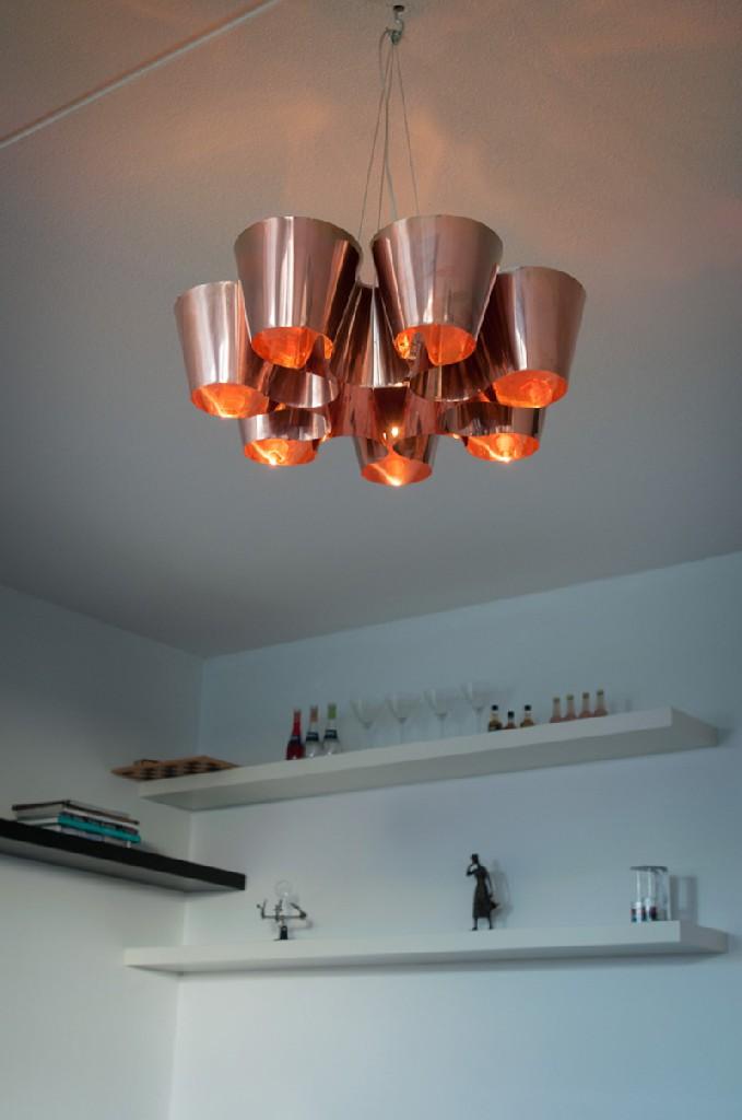 Copper Cone lamp Marnix de Stigter