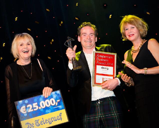 Droog design winnaar Amsterdam Business Award 2014