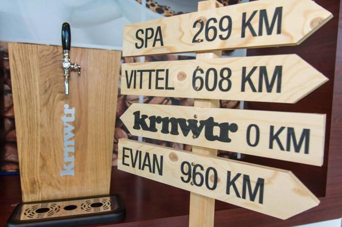 KRNWTR Houten Waterkoeler