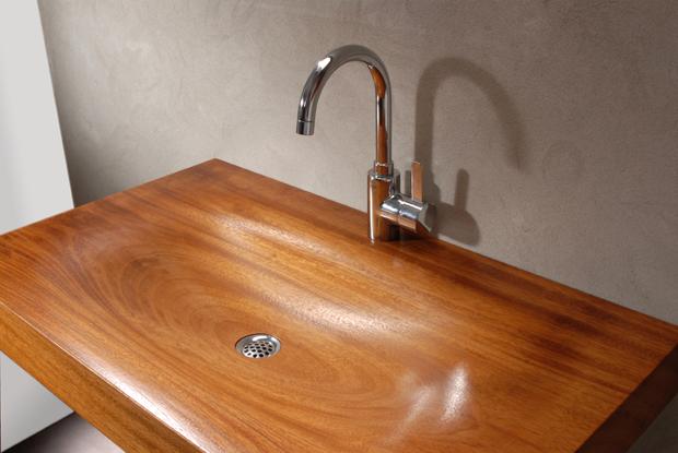 Jacob van Ruysdael houten wasbak  Nederlands design com # Wasbak Fabriek_155207