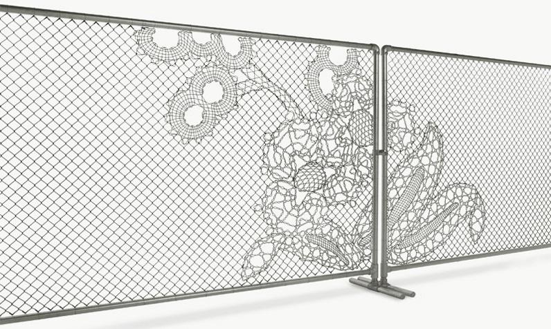 Lace Fence Demakersvan