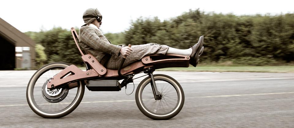 Laidback elektrische fiets Jurgen Kuipers